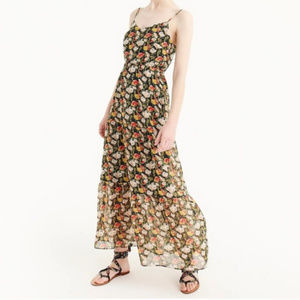 NWT J.Crew Mercantile Tiered Maxi Dress Size 2